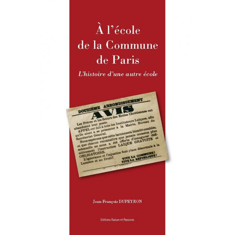 A l'école de la Commune de Paris
